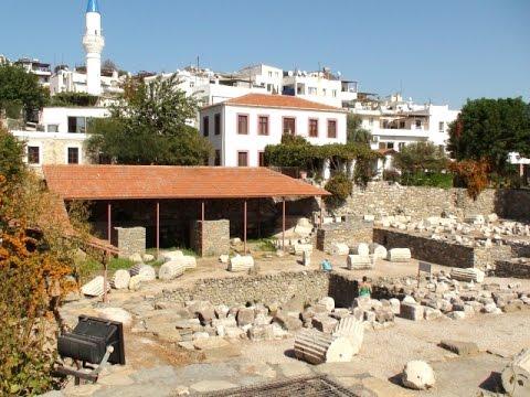 Mauzoleum w Halikarnasie - Turcja - Bodrum - Mausoleum at Halicarnassus - Turkey - Morze Egejskie