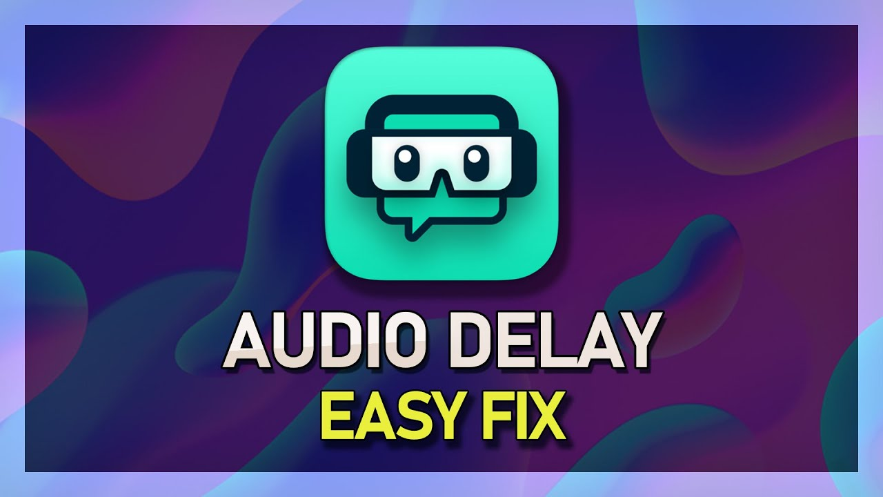 StreamLabs OBS - How to Fix Audio Delay on Stream and Recording