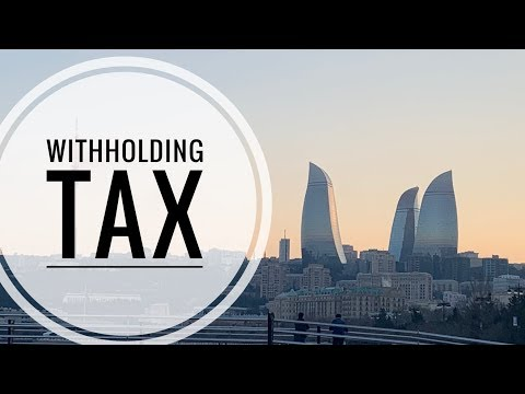 """What is """"Withholding Tax""""?"""