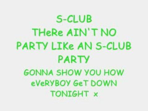 S-Club Party (Lyrics)