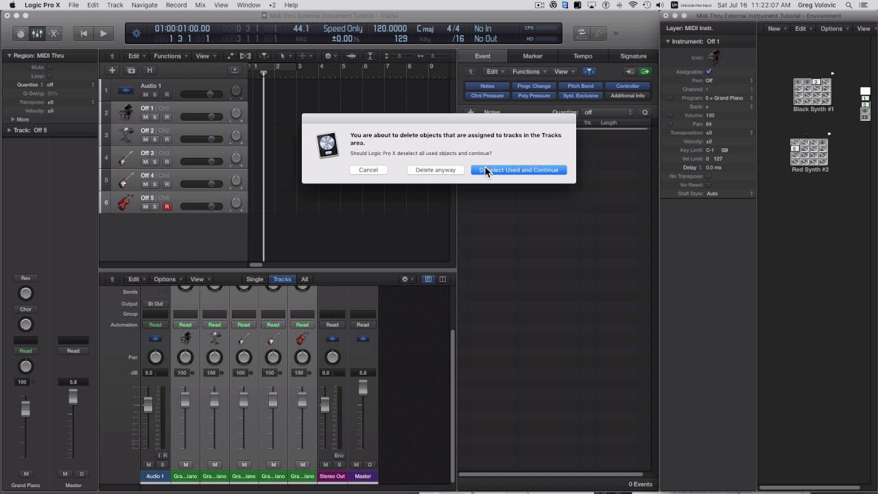 A return to Logic - Page 2 - Logic Pro Help