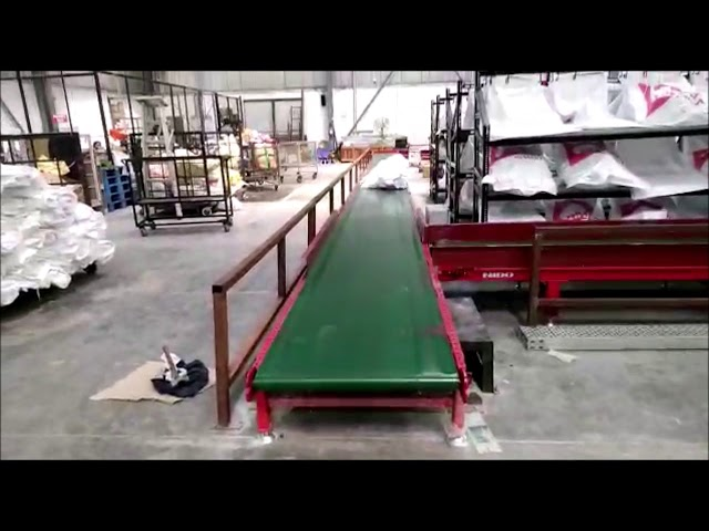 160 meter long Bagging Conveyor provided to one of our top 3PL clients