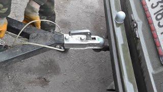 Переделка фаркопа для ВАЗ 2101/03/06 на ВАЗ 2104.
