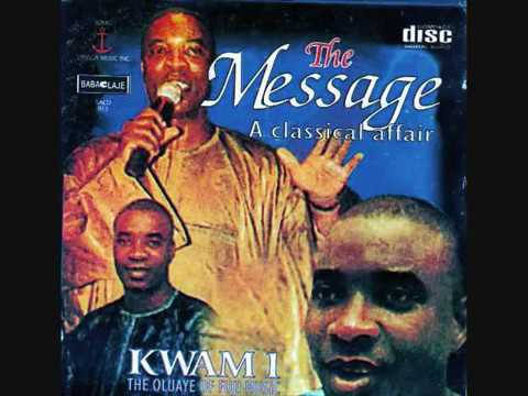 Download KING WASIU AYINDE   THE MESSAGE  (OMO NAIJA)
