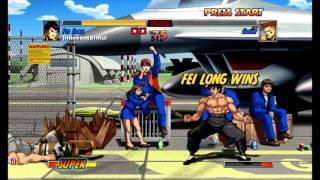 Super Street Fighter II Turbo HD Remix (Xbox Live Arcade) Arcade as Fei Long