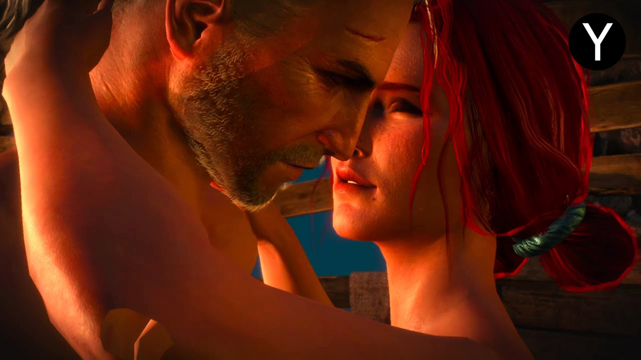 Hot steamy sex in witcher wild hunt video games