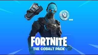 "FORTNITE-SEARCH AND DESTROY | SKIN ""COBALT""-STARTER PACK #5"