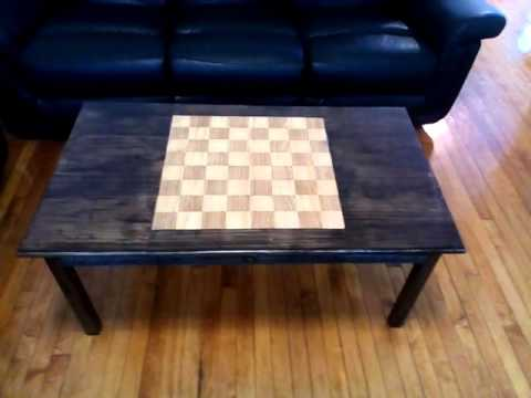 Update On The Chess/coffee Table I Built