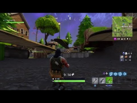 RETAIL ROW GLITCH - HOW TO GET UNDER THE MAP - GOD MODE/INVINCIBLE (Fortnite Battle Royale)