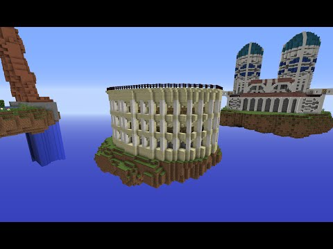 Minecraft Roman Colosseum: Building With Optical Creeper Episode 5