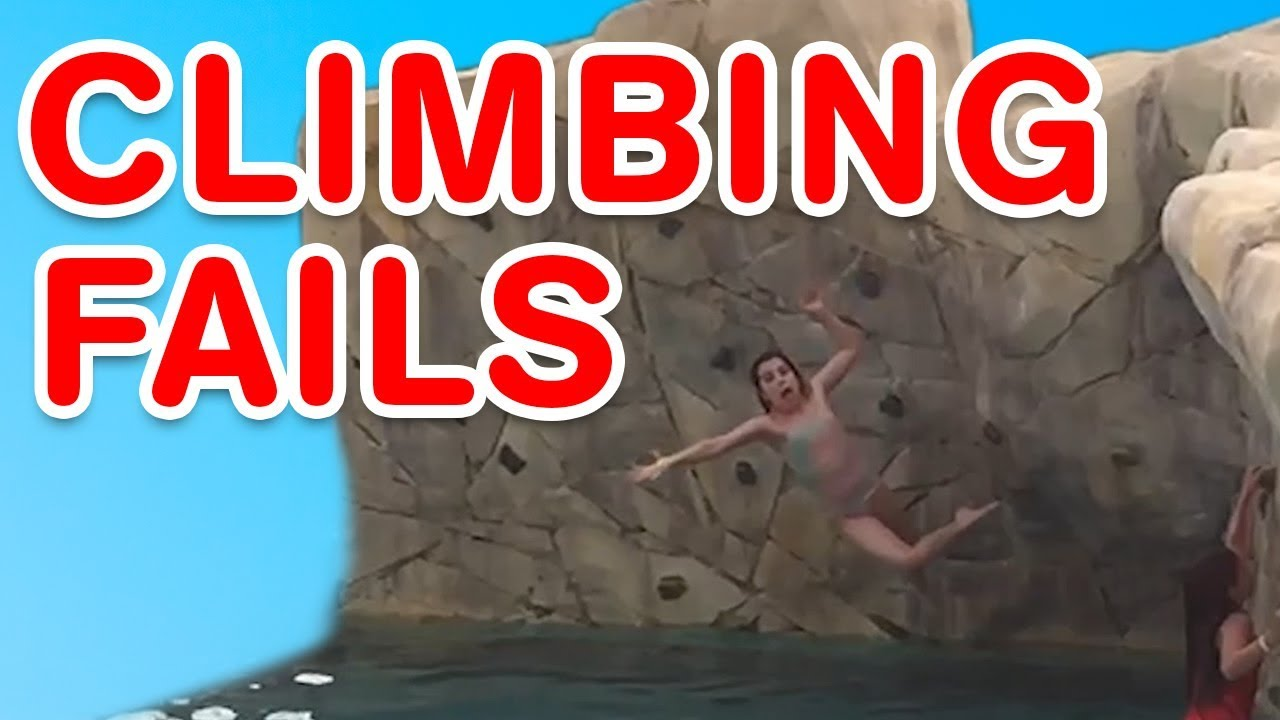 Climbing Fails   Humorous Fail Compilation
