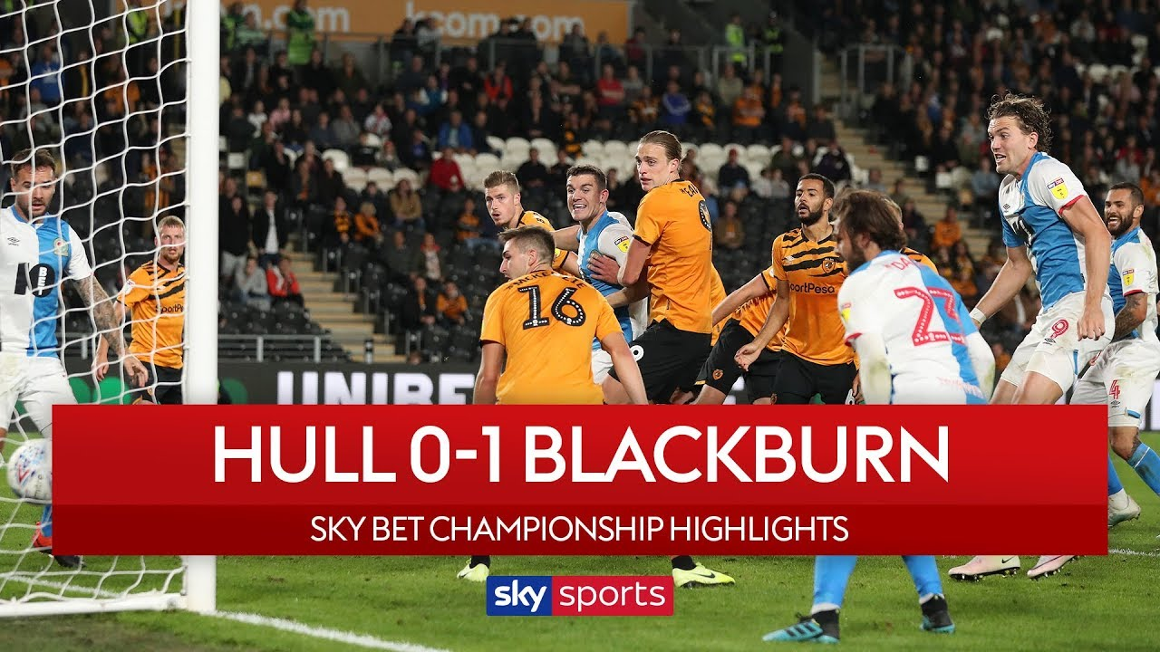 Rovers delight at Hull | Hull 0-1 Blackburn | EFL Championship | Highlights