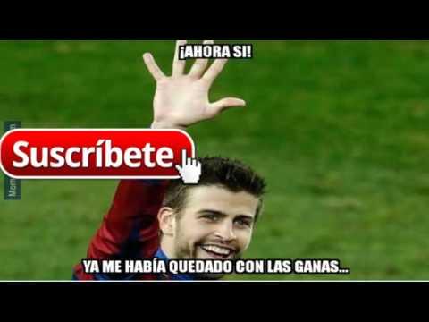 Barcelona vs As Roma 6-1 Memes UEFA Champions League 2015-2016 Videos de risa