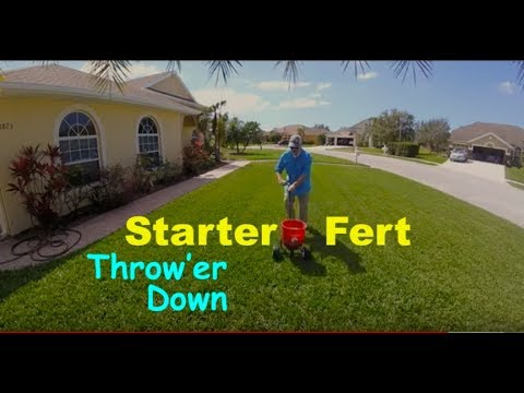 Lawn Starter Fertilizer + Humic12 N-ExT Soil Treatment