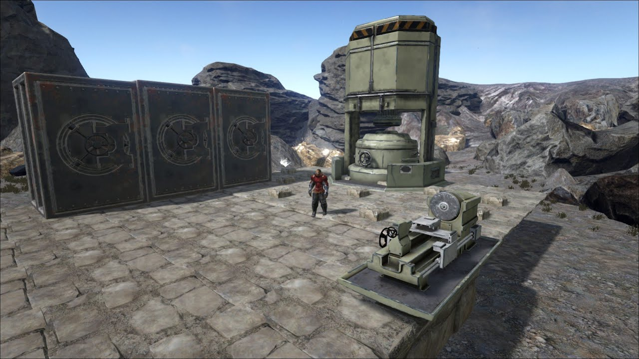 how to make a refining forge in ark