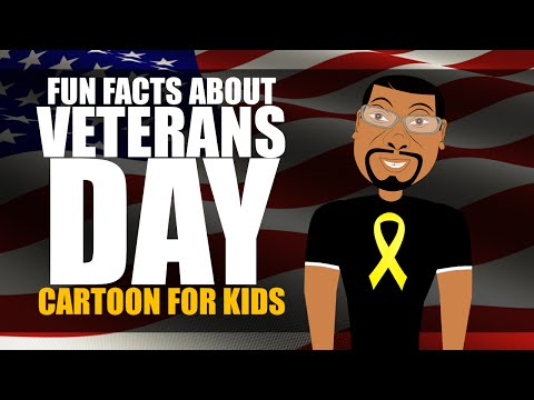 Veterans Day For Kids Cartoon Learn Fun Facts About Veterans Day For Elementary Students