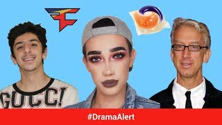 FaZe Rug  James Charles ATTACKED DramaAlert Andy Dick EXPOSED on Twitch Tide Pods Markiplier