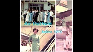 Air Vietnam thời VNCH- trước 1975 - Hình ảnh xưa- Tiếp Viên Hàng Không- Chị Thanh Tâm và các bạn