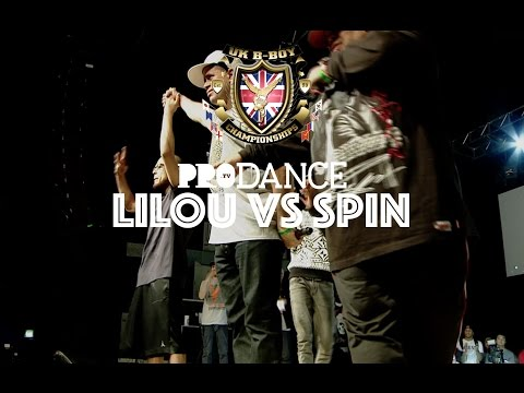 LILOU vs SPIN | UK B-Boy Championships 2014 - Undisputed Solo BBoy Final