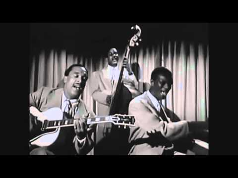"""Nat King Cole Trio - """"It's Better To Be By Yourself""""/""""Solid Potato Salad"""" (1946)"""