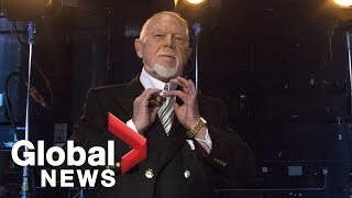 After history of controversial remarks, Don Cherry out at Hockey Night in Canada due to poppy rant