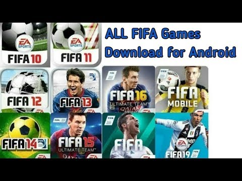 🔫 Download All FIFA Games🔫 For Your Android Device🔫 Play FIFA Games In Your Android Device🔫