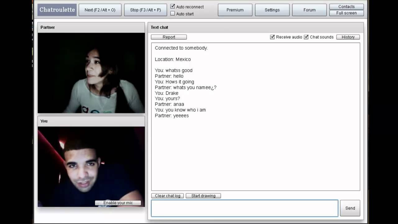 chatroulette female