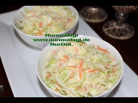 Kfc Salat - Kfc Salata tarifi - kraut Salat - coleslaw