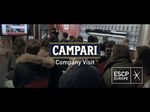 ESCP Europe's IFBM Company visit: Campari