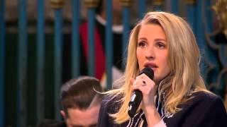 Ellie Goulding singing Fields Of Gold