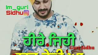 Sardara Ve-Sukh Sandhu|latest Song|whatsapp video by Guri Sidhu Bhagu