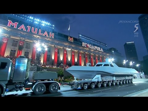 S'pore National Day Parade 2015 - Full Length [1080p] - Song Subtitles Added