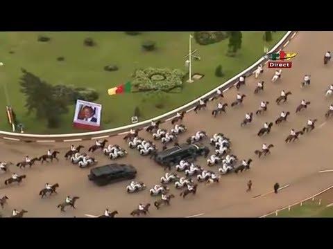 President Paul Biya's Convoy 20th May 2018! Watch