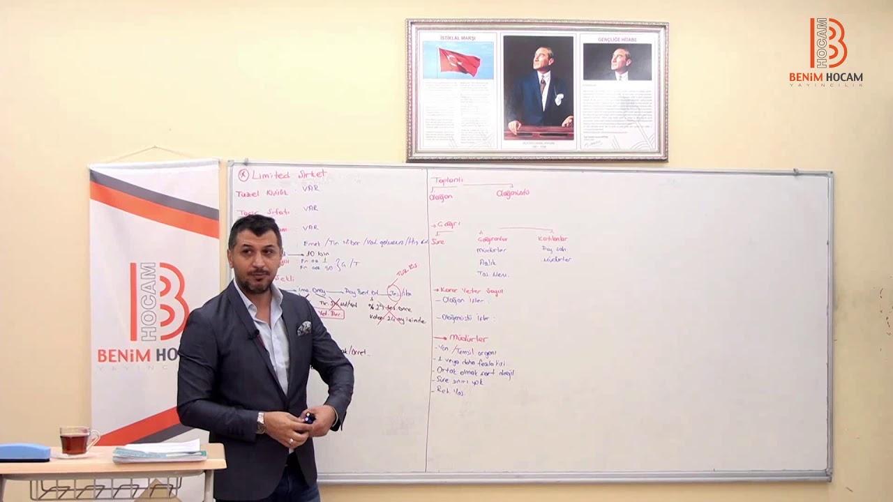 15) Serkan KARAOĞLU - Ticaret Hukuku / Limited Şirket (2018)