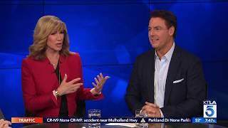 "Leeza Gibbons & Mark Steines on the Rose Parade & the New Series ""Rose Parade Uncovered"""