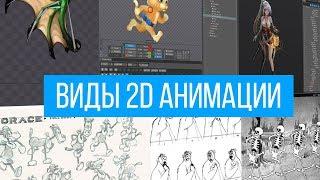 Виды 2D анимации