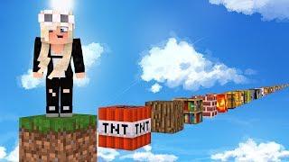RENNEN auf JEDEN Minecraft BLOCK