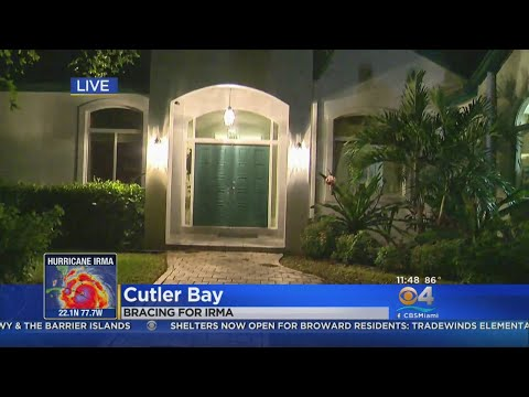 CBS4's David Sutta Shows His Family House, From Andrew To Irma