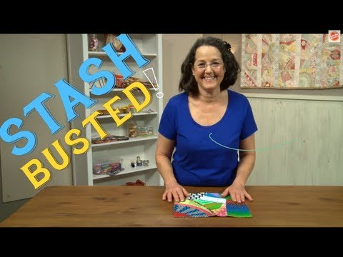 Stash Busters   Quilting Ideas for Beginners from Allie Aller, Crazy Quilter