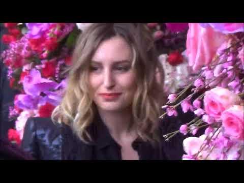 Laura CARMICHAEL @ Paris Fashion Week 22 january 2018 show Schiaparelli #PFW janvier
