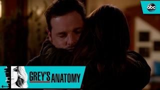 Jo Learns Alex Is Safe - Grey's Anatomy 13x12