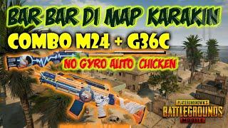 Download BARBAR DI MAP BARU KARAKIN COMBO G36C + M24 PUBG MOBILE | BADUT GAMING