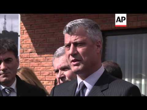 Kosovo Prime Minister visits Albanian neighbourhood in tense north