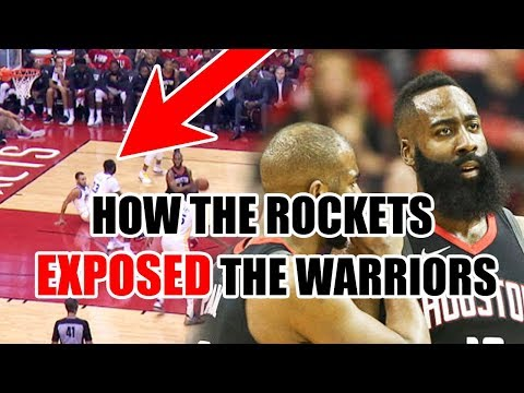 How The Rockets EXPOSED The Warriors DEFENSE In The NBA Playoffs