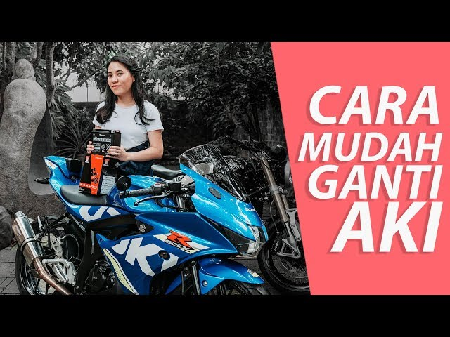CARA Ganti Aki Motor ft. Kanjeng Putri - #dimvlog 305