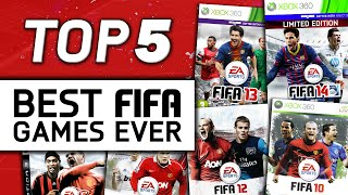 TOP 5 | BEST FIFA GAMES EVER!!!(BEST FIFA GAMES EVER! Check out my Dream Team FC Top 5's! ▻ https://www.youtube.com/playlist?list... Get Games, MSP & PSN Codes Here! G2A.com ..., 2016-02-21T10:30:00.000Z)