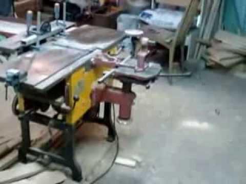 видео: Универсальный деревообрабатывающий станок ml 392 maschinen zur holzbearbeitung