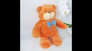 М'яка іграшка Ведмідь Бо 61 см коричневий