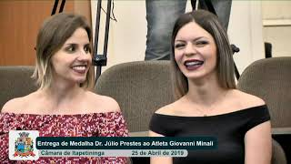 06ª Sessão Solene   Giovanni Larizzatti Minali   2019