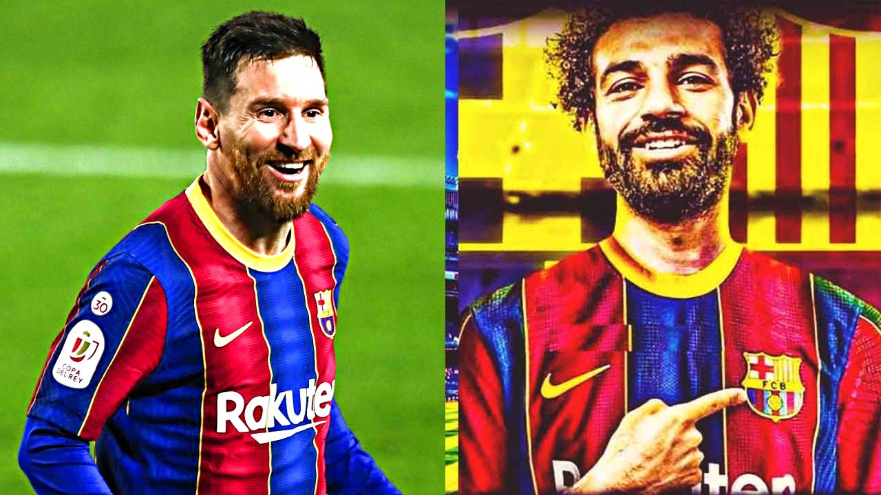 BARCELONA WILL BOMB THE WORLD OF FOOTBALL WITH THE SALAH TRANSFER! The trick that will save MESSI!